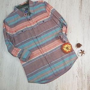 Modern Amusement Striped Shirt